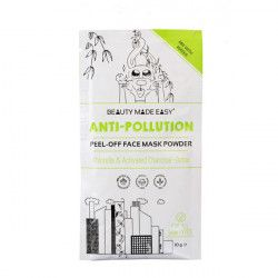 Beauty Made Easy Masca pell off anti-poluare cu chlorella si carbune activ 10g