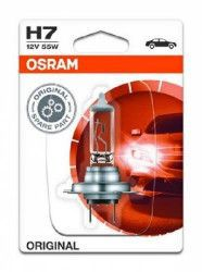 Bec auto pentru far Osram H7 12V 55W 1 Buc Lanturi auto