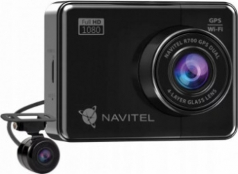 Camera Auto DVR Navitel R700 Dual camera GPS Night Vision senzor SONY IMX307 FHD camera spate IP65 Camere Video Auto