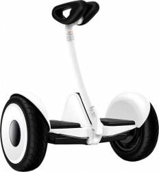 Ninebot electric Hoverboard Xiaomi QBE4014RT Mecanism de auto-echilibrare Anvelope pneumatice Alb