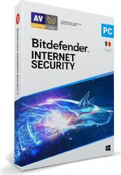 Bitdefender Internet Security 2020 5 Dispozitiv 1 An Retail DVD Antivirus