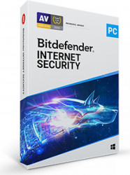 Bitdefender Internet Security 2021 1 An 3PCs Retail Antivirus