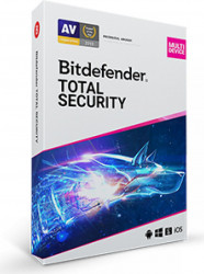 Bitdefender Total Security 2021 1 An 10PCs Retail Antivirus