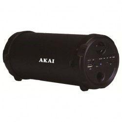 Boxa activa portabila woofer Akai Port USB Conectivitate Bluetooth AUX IN Functie PowerBank