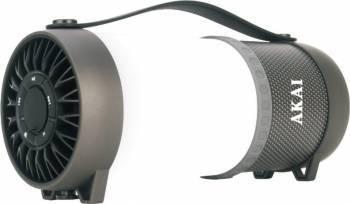 Boxa portabila Akai ABTS-40 lampa LED Negru