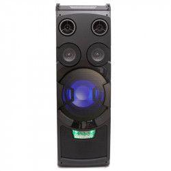 Boxa AKAI Portabila Conectivitate Bluetooth Joc de lumini DJ Radio FM Egalizator Grafic Bass and Treble 50 W RMS Afisaj LED