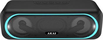 Boxa portabila activa Akai ABTS-141 Bluetooth 5.8 W USB micro SD card slot Aux functie True Wireless Sound Negru