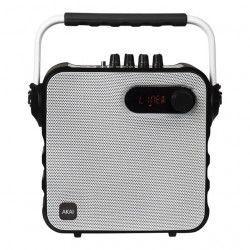 Boxa Portabila AKAI Conectivitate Bluetooth Port USB TF Card Putere RMS 30 W Radio FM Telecomanda Microfon Wireless