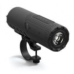 Boxa portabila AKAI Conectivitate Bluetooth si Lanterna 3W Prindere pe Bicicleta cu suport Capacitate Baterie 1200 mAH Compatibila
