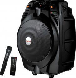 Boxa portabila Akai SS022A-X6 30W Bluetooth Microfon Negru Boxe Portabile