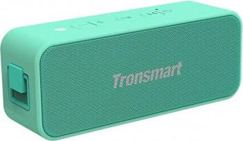 Boxa Portabila T2 Plus Bluetooth 5.0 IPX7 rezistenta la apa 20W Light Green
