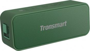 Boxa Portabila T2 Plus Bluetooth 5.0 IPX7 rezistenta la apa 20W Verde