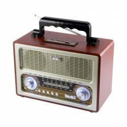Boxa radio portabila retro Sal RRT3B bluetooth 6W USB 3 benzi AM FM SW
