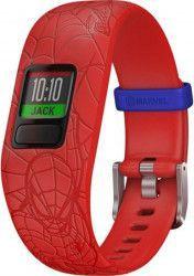 Bratara fitness Garmin Vivofit Jr. 2 Bratara reglabila Spider-man Red Bratari Fitness