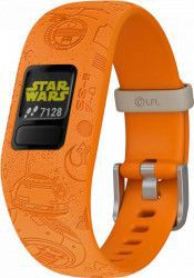 Bratara fitness Garmin Vivofit Jr. 2 Star Wars Light Side Orange Bratari Fitness
