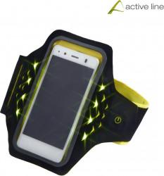 Bratara Fitness pentru Smartphones Hama Active Sports cu LED Marime XL