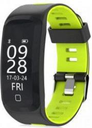 Bratara fitness TechONE F4 Pro Plus IP68 submersibila puls dinamic tensiune vremea altitudine UV index Android iOS notificari negru/verde Bratari Fitness
