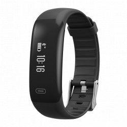 Bratara fitness TechONE H40 Pro BT 4.0 rezistenta la apa IP67 monitorizare puls cronometru negru Bratari Fitness