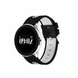Bratara Smart Bluetooth monitorizare cardiaca calorii pedometru notificari alb SoVogue Bratari Fitness
