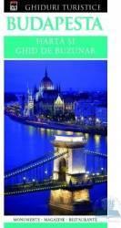 Budapesta - Harta si ghid de buzunar Harti
