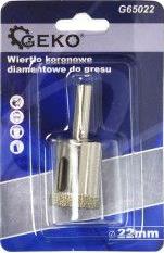 Burghiu diamantat 22mm Geko G65022 Accesorii masini de gaurit