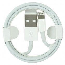 Cablu date MD818FE/A Lightning pentru iPhone 5 5s 6 6s 7 Alb Bulk