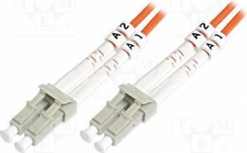 Cablu Fibra Optica Multimodal Digitus LC-LC Duplex 3m Cabluri Retea