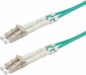 Cablu fibra optica Multimodal Value LC-LC OM3 50-120um 1m Verde Cabluri Retea