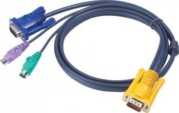 Cablu KVM ATEN 2L-5203P, PS2, 3 m Accesorii KVM