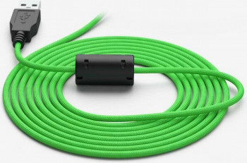 Cablu USB pentru mouse Glorious PC Gaming Race Ascended Cable V2 2m Gremlin Green Accesorii