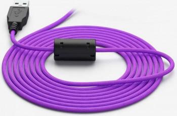 Cablu USB pentru mouse Glorious PC Gaming Race Ascended Cable V2 2m Purple Reign Accesorii