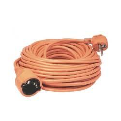 Cablu prelungitor cu cupla Home NV2-30O 30 m stecher si priza cu impamantare IP20