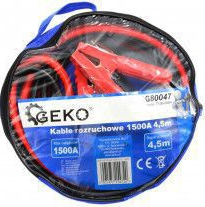 Cabluri de pornire 1500A 4.5m GEKO G80047
