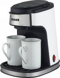 Cafetiera cu filtru Zass ZCM 01 Putere 450W 2 cesti ceramice incluse Dimensiuni reduse Picioruse antialunecare Cafetiere