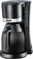 Cafetiera cu termos Zass ZCM 11 Putere 800W Capacitate 6-8 cesti Cana termos din sticla 1L Negru Cafetiere