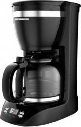 Cafetiera Heinner Savory 1100D 900W Capacitate 1.5L Control electric Timer Negru Cafetiere