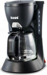 Cafetiera Zass ZCM02 600W 0.6 L 4-6 cesti Sistem anti-picurare Negru Cafetiere