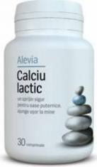 Calciu Lactic Alevia 30cpr