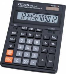 Calculator de birou Citizen SDC444S Black