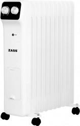 Calorifer electric cu ulei Zass ZR 11 N 2500 W 11 elementi Termostat reglabil Protectie la supraincalzire Alb Aparate de incalzire