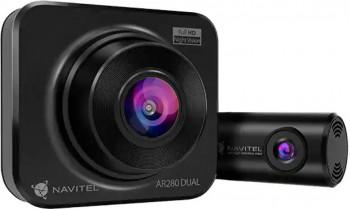 Camera auto duala DVR NAVITEL AR280 Full HD Night Vision + HD RearCamera