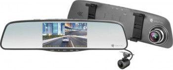 Camera Auto DVR Navitel MR250NV Night Vision 5inch FHD 160grade Metal + camera spate