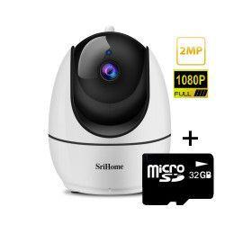 Camera de supraveghere WIFI Sricam SH026 Night vision Rotire automata rapida FullHD 2.0 MP Camere de Supraveghere