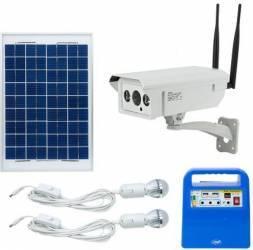 Camera supraveghere video PNI IP30 4G + Kit solar fotovoltaic PNI GreenHouse H01 Camere de Supraveghere