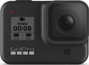 Camera video sport GoPro HERO 8 4K 12 MP Black Resigilat