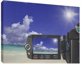 Camera 2 - Tablou canvas - 52x70 cm Tablouri