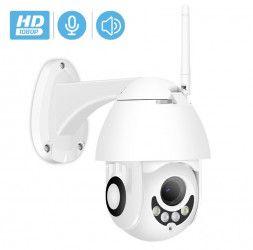 Camera Supraveghere IP Exterior/ Interior XMP200 Full HD PTZ WiFi LAN Suport Card 128 GB P2P H264 Adroid iOs Camere de Supraveghere