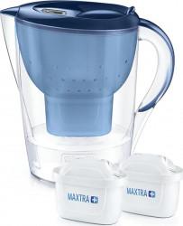 Cana filtranta Marella XL 3 5 l cu 2 cartuse MAXTRA+ albastra - Brita Cani filtrante si Accesorii