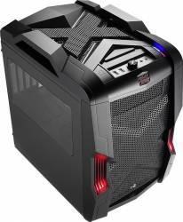 Carcasa AeroCool Strike-X Cube Windowed fara sursa Neagra Carcase