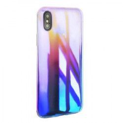 Carcasa Apple iPhone XS MyStyle Crystal Blue Cameleon gradient color changer